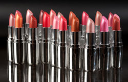 Different Lipstick Royalty Free Stock Photos