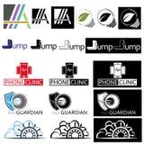 Different_logo 免版税图库摄影