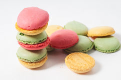 Different macaron cookies Royalty Free Stock Photo