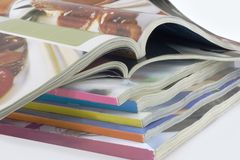 Different magazines Stock Images