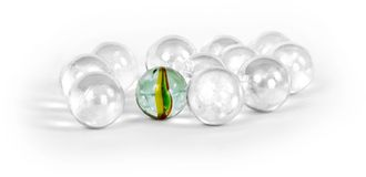 Different marbles Stock Images