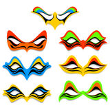 Different masks Royalty Free Stock Photos