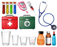 Different medical sets Stock Image