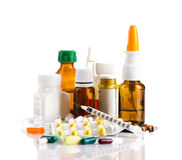 Different medicaments Royalty Free Stock Photos