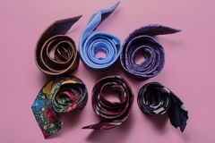 Free Different Men`s Ties Royalty Free Stock Photo - 115062115