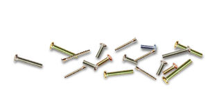 Different metal bolts Stock Photography