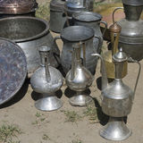 Different metal utensils Stock Photo
