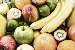 Different mixed fruit. Royalty Free Stock Photo