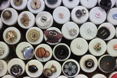Various models of buttons. royalty free stock photos