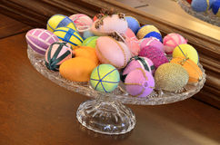 Easter eggs ornaments Royalty Free Stock Photos