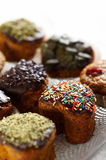 Different muffins Royalty Free Stock Images