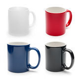 Different mugs Royalty Free Stock Photos