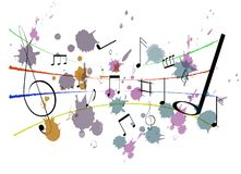 Music Notes royalty free stock photo