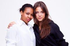 Different nationalities teenage girls Stock Photos