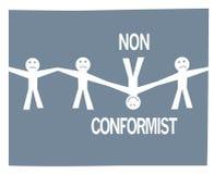 Different, Non Conformist Stock Images