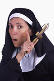 Different nun Royalty Free Stock Images