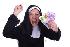 Different nun Stock Image