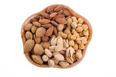 Different nuts Royalty Free Stock Photography