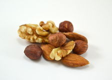 Different nuts Royalty Free Stock Photo
