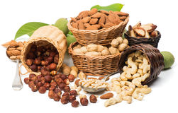 Different nuts Royalty Free Stock Image