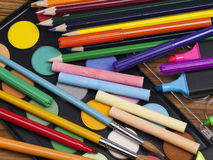 Different objects for drawing Stock Photos