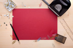 Different office objects Stock Image