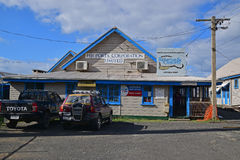 Different Offices in a single building in Levuka, Fiji. Royalty Free Stock Photography