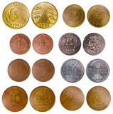 Different old germany coins Stock Images