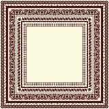Different ornamental frames Royalty Free Stock Image