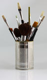 Different paintbrushes Stock Image