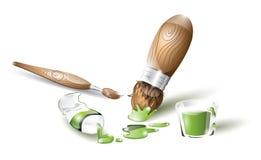 Artistic tools Stock Photo