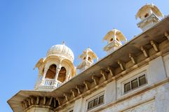 Different parts of  King's Memorials, Jaswant Thada Royalty Free Stock Photos