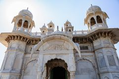 Different parts of  King's Memorials, Jaswant Thada Stock Photo