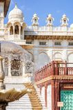 Different parts of  King's Memorials, Jaswant Thada Royalty Free Stock Image