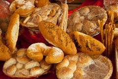 Different pastry in buffet Stock Photo