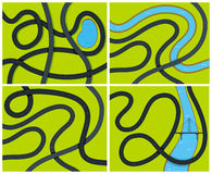 Green Field Stream Curve Stock Illustrations – 4 Green Field ...