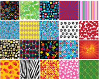 Different patterns Royalty Free Stock Photography
