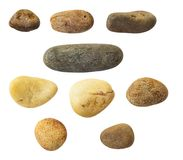 Smooth pebbles Stock Photography