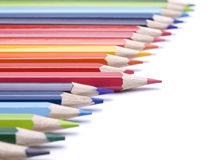 Different pencil Stock Photography