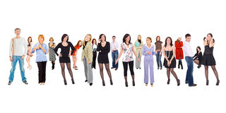 Different people Royalty Free Stock Photo