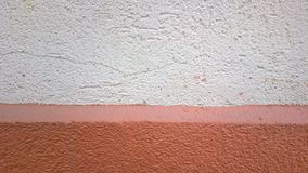 Just a simple wall in 2 colors. From a different perspective everything seems nicer Stock Photos