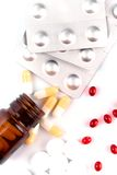 Different pills Royalty Free Stock Images