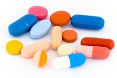 Different pills Stock Image