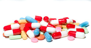 Different pills Royalty Free Stock Photos