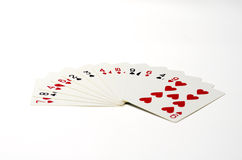 Different playing card Royalty Free Stock Image