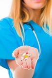 Different prescription drugs Royalty Free Stock Photo