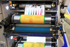 Different printed machines Royalty Free Stock Image