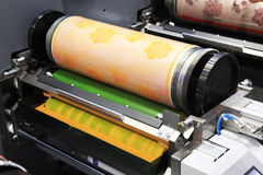 Different printed machines Stock Photos