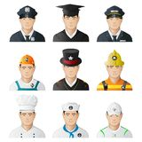 Different Professional Man Stock Images