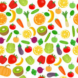Different professions seamless colorful pattern on white background Stock Photos